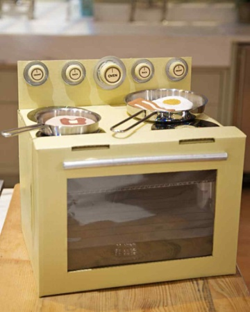 The oven we made on the show